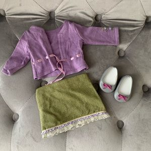"""American Girl 18"""" Doll Go Anywhere Meet Outfit"""